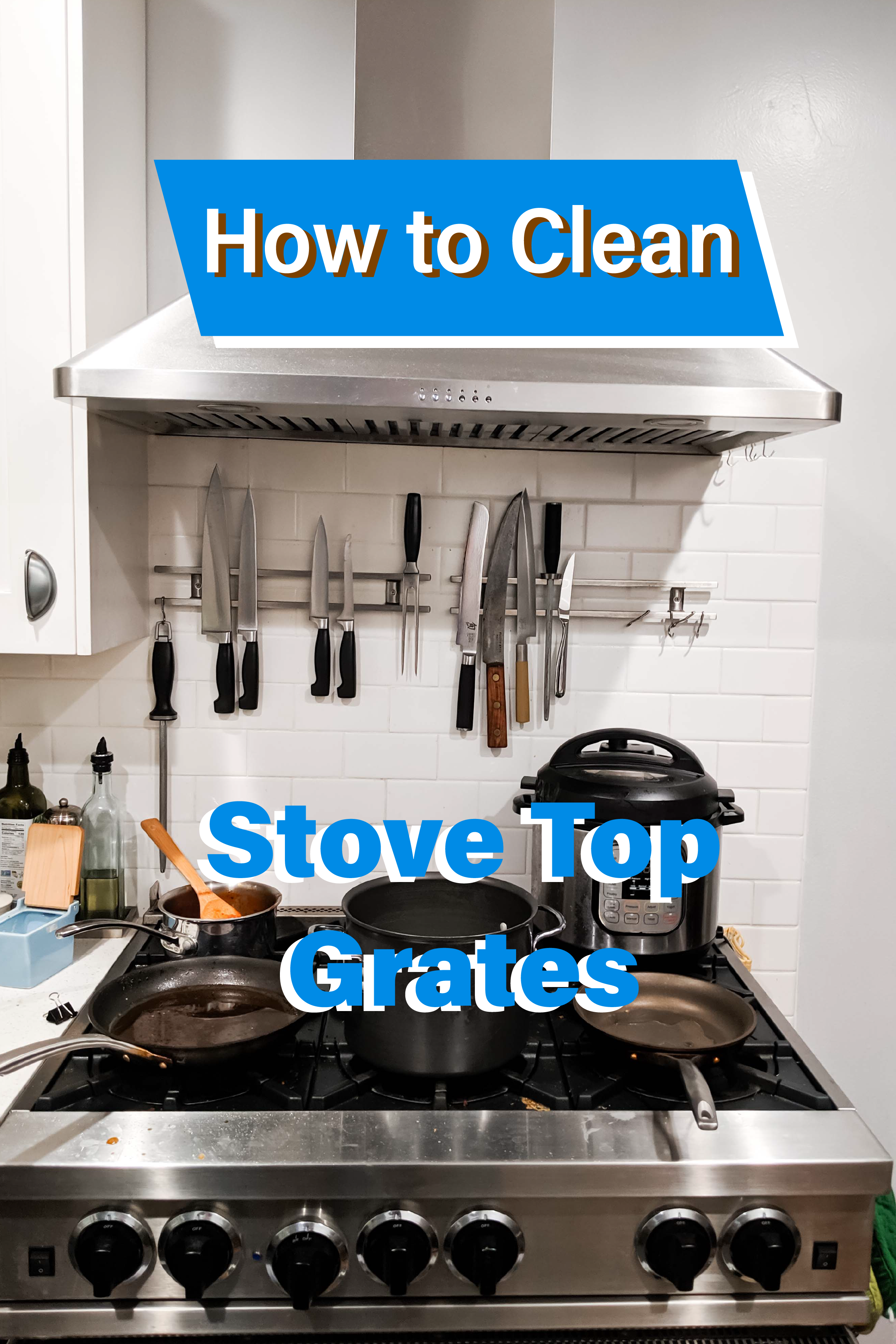 How To Clean Stove Top Grates Clean Stove Clean Stove Top Clean Stove Top Grates