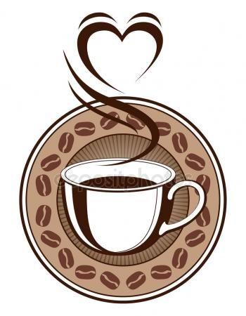 ダウンロード 心を湯気でコーヒーのデザイン ストックイラストレーション 82071270 コーヒー コーヒーのイラスト デザイン