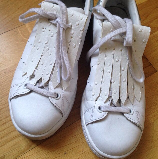 Franges amovibles pour chaussures #fringes#franges#languettes#stansmith#stan #adidas