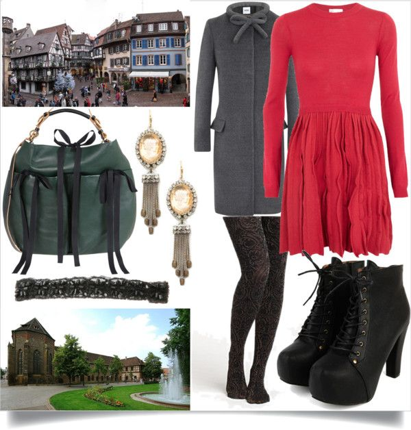 """Musée d'Unterlinden and the Wine Road of Alsace"" by c-mcmahon05 ❤ liked on Polyvore"