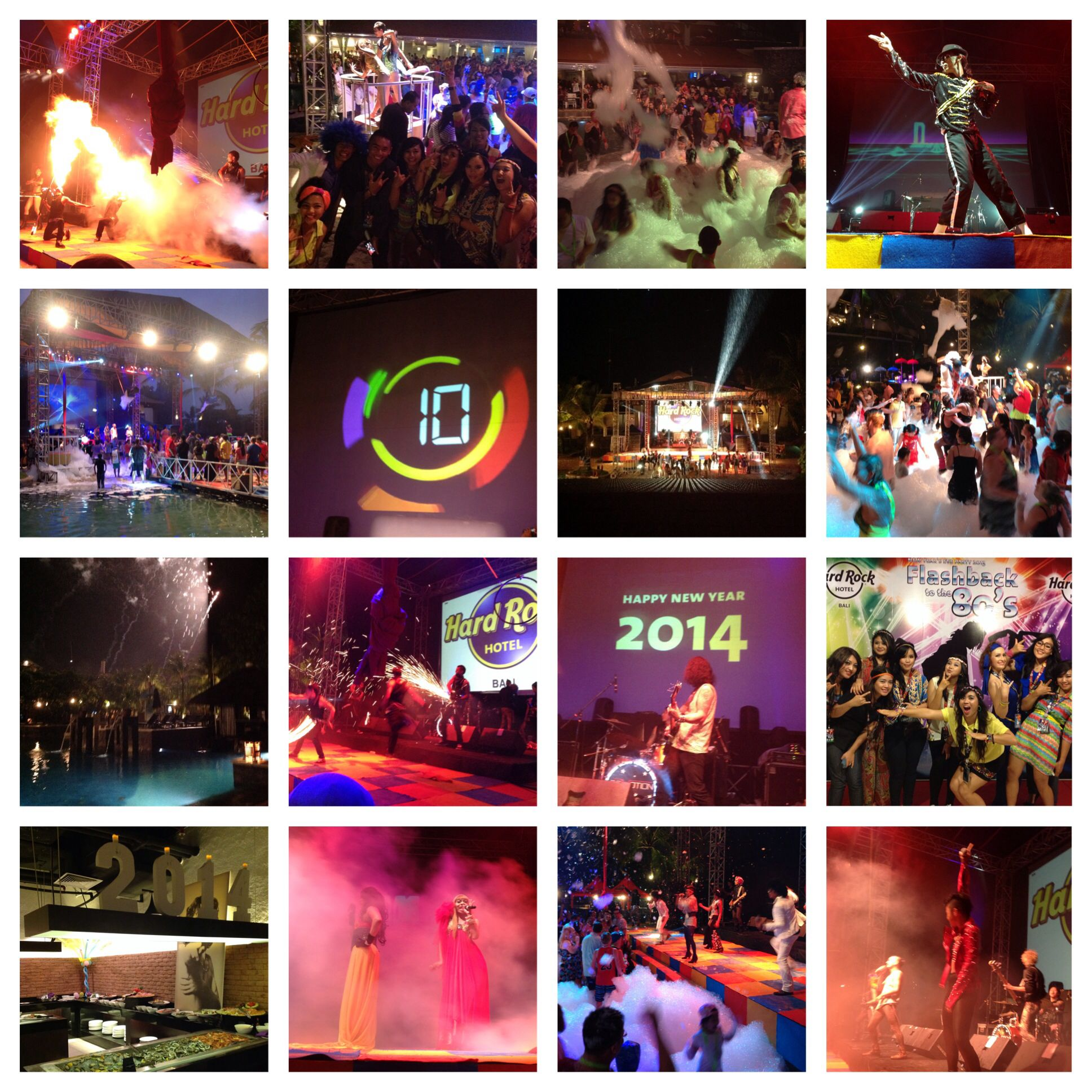 New Year S Eve Party Hard Rock Hotel Bali