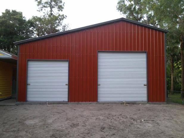 All Vertical 30x21x12 1 10x10 1 6x6 Roll Up Door Steelgarage Starts At 7 162 Outdoor Decor Roll Up Doors Steel Garage