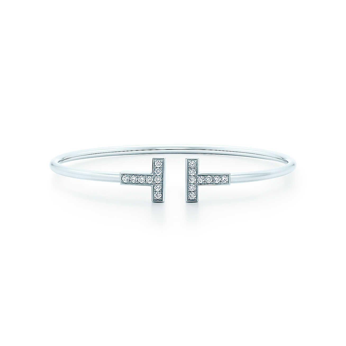f7cadaa6e Wire Bracelet   Wish List   Tiffany t, Tiffany jewelry, Bangle bracelets