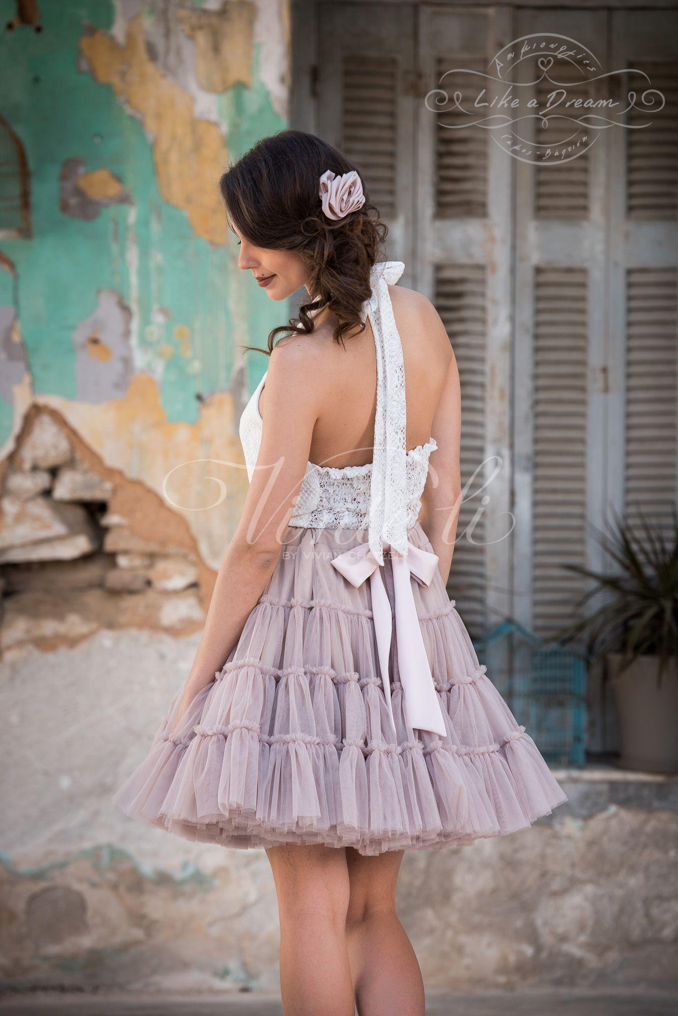 4aad6969ec0 Γυναικεία Φούστα W152439 - Μπλουζάκι W182700 Φούστα τύπου tutu, 50% Βαμβάκι  - 50%