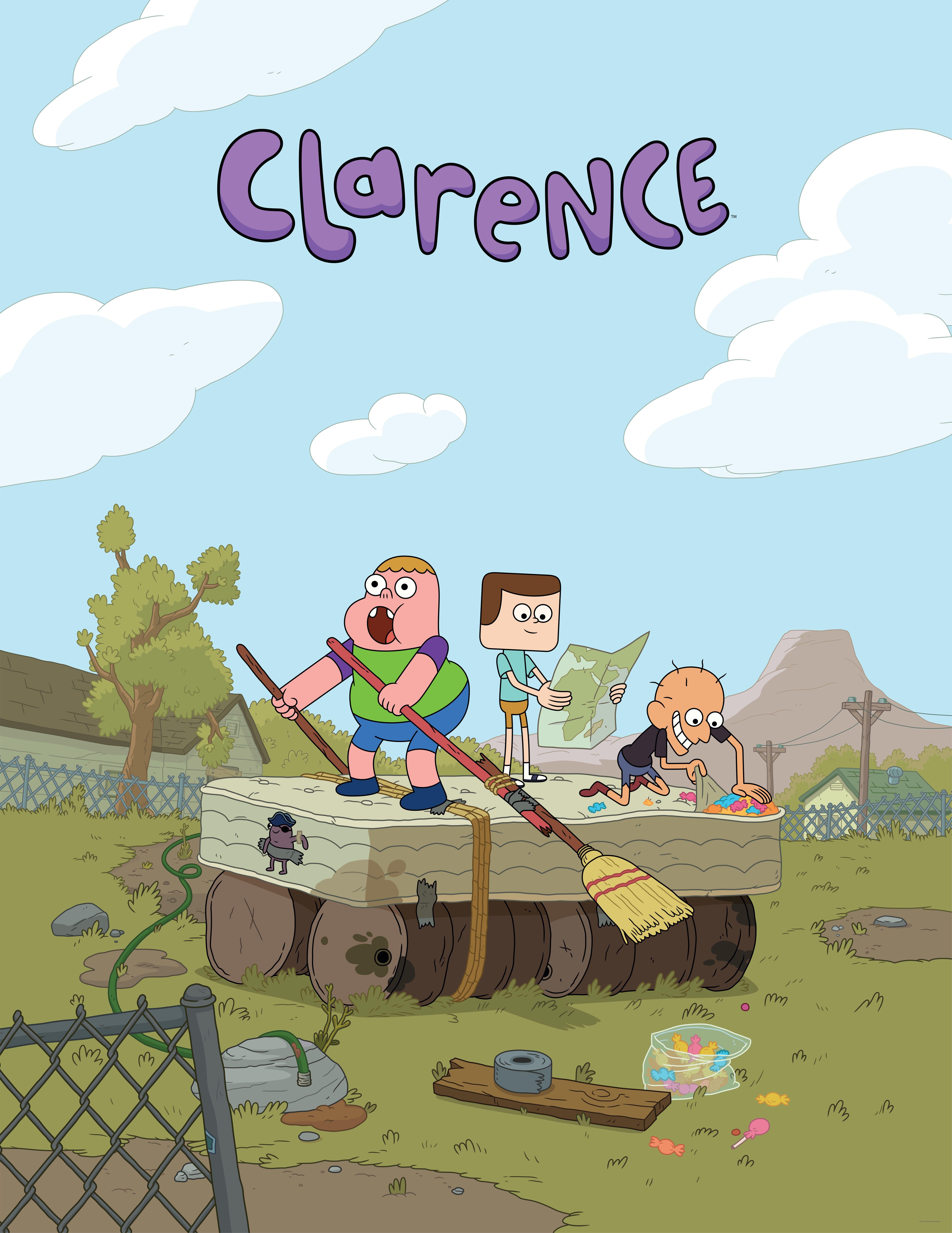 Clarence Wallpaper 2 Cartoon Network - WallpaperSafari