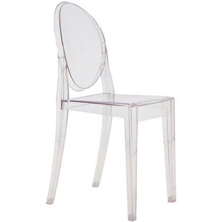 Charmant Fine Mod Imports Clear Side Chair In Clear