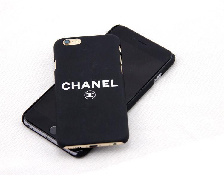 Coque CHANEL unique noir très populaire bonne qualité pour iPhone ...