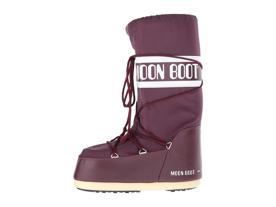 Tecnica Moon Boot(r) Nylon Boots Burgundy   Products   Moon