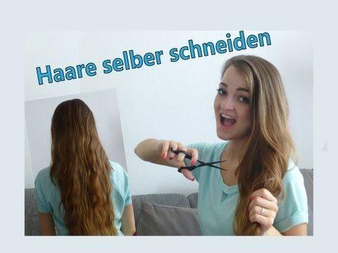 Lange Haare Selber Schneiden Youtube Bscrapt Das Ist Ja Wahnsinn