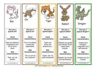 Chinese Zodiac Years Chart Printable Chinese Zodiac Animal