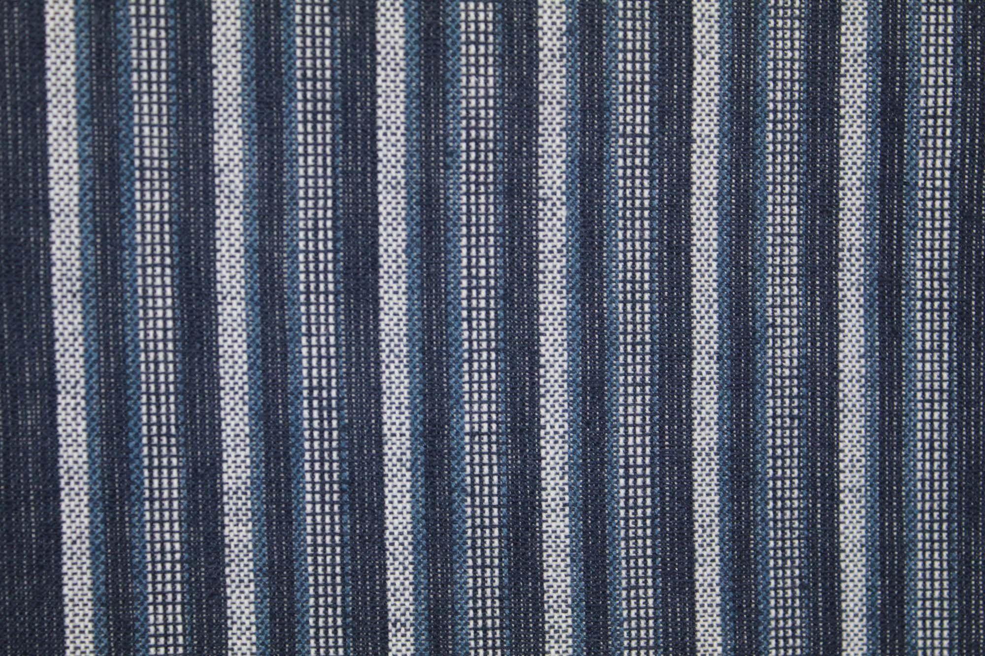 Vertical Stripe Navy Blue Cotton Cloth Japanese Noren Curtain