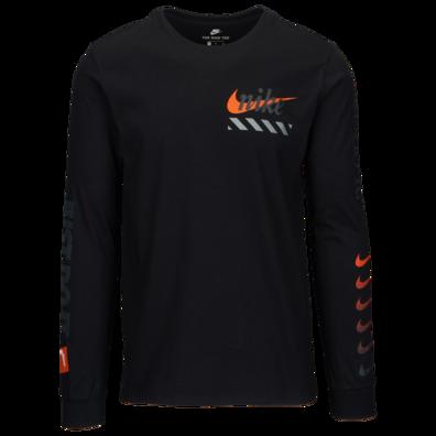 Nike JDI Branding Long Sleeve T Shirt Men's in 2019