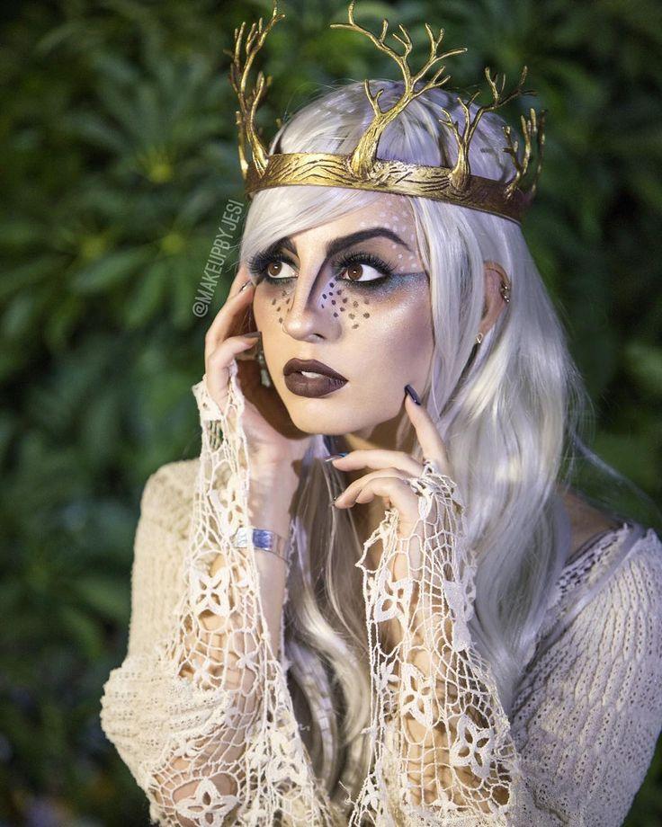 Woodland Fairy Makeup / Costume … Fairy makeup, Woodland