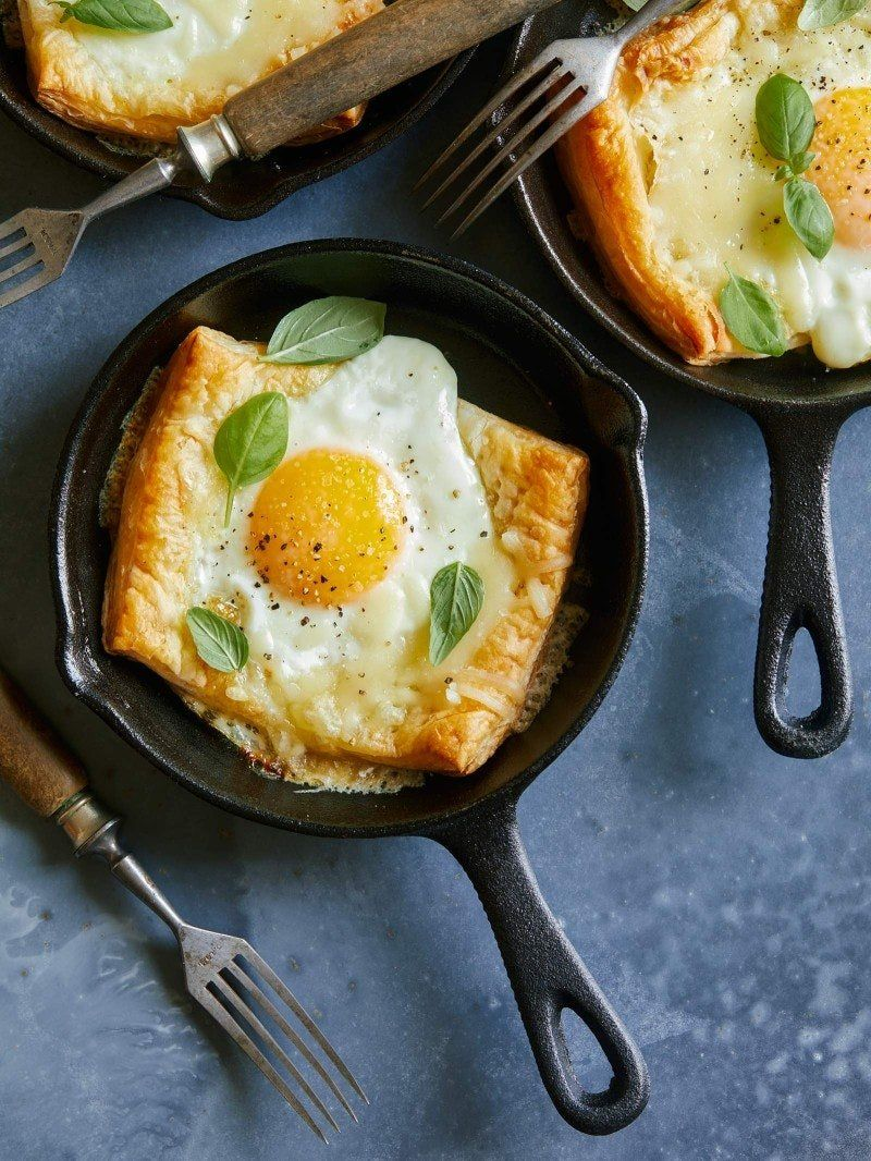 These 3-Ingredient Skillet Tarts Will Make You a B