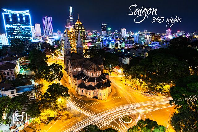 Saigon 365 Nights Photos Ho Chi Minh City Saigon City From Above