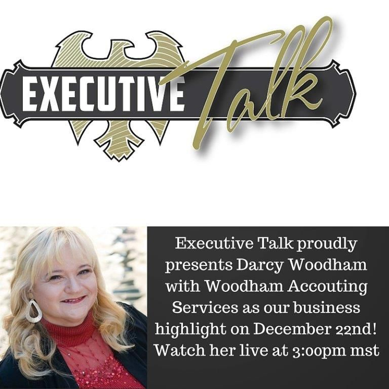 Welcome Darcy with Woodham Accounting Services. She will be out business highlight December 22, 2015 @ 3:00pm