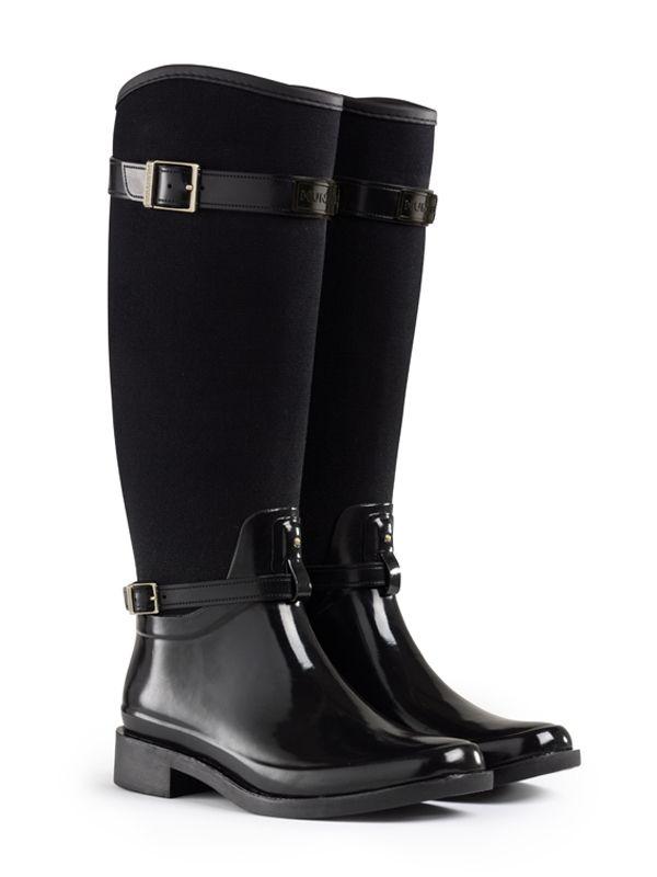 Women S Norris Field Neoprene Lined Rain Boots Riding