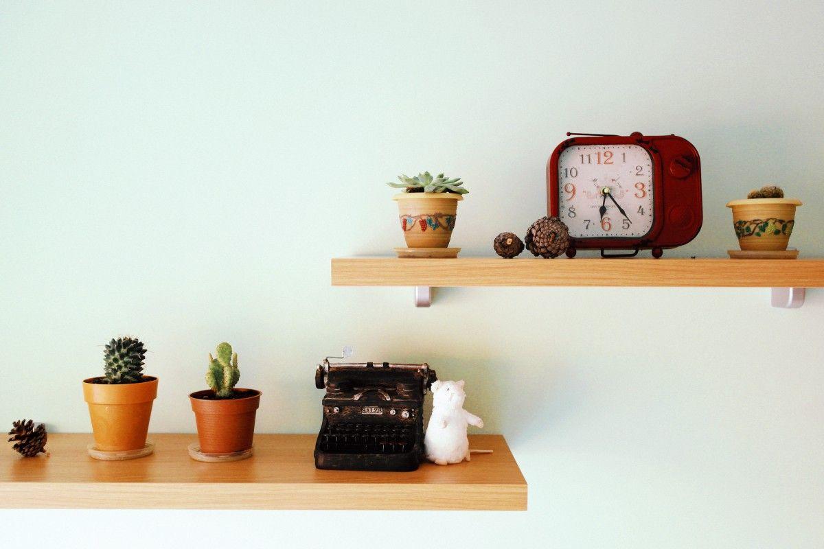 6 Conseils Pour Bien Fixer Une Etagere Murale Etagere Sans Percer Parement Mural Et Idees Pour La Maison