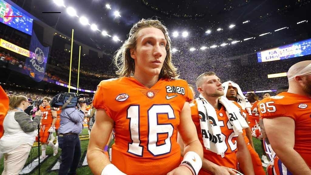 Trevorlawrence In 2020 National Football League Football League National Football
