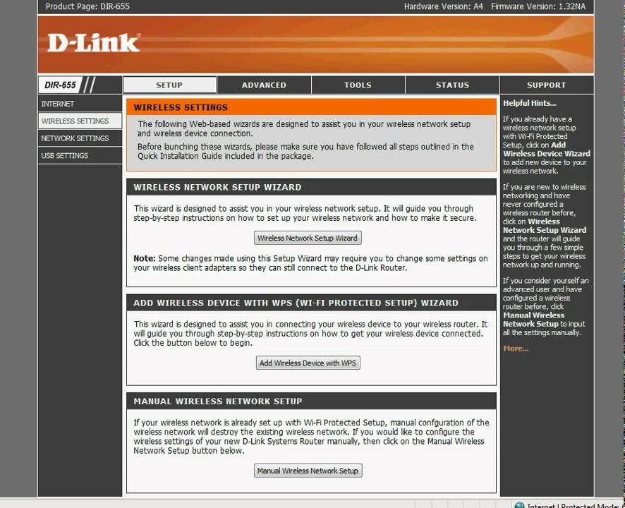 Fast D-Link Wireless Router Security Setup