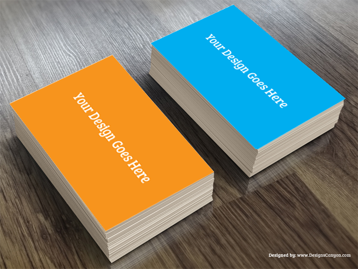 Realistic Business Card Mockup Template Free Download | Designs ...
