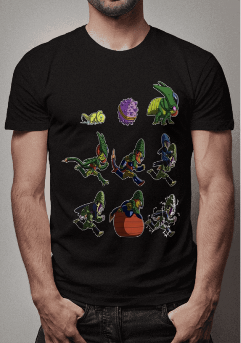 Camiseta Dragon ball z d0a33f697be