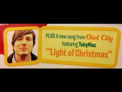 Light Of Christmas Lyric Video Owl City Feat Tobymac Christmas Lyrics New Christmas Songs Veggie Tales Silly Songs