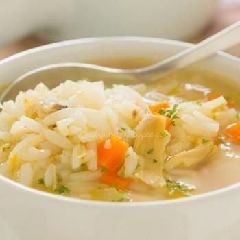 Classic Chicken and Rice Soup Recipe - ZipList