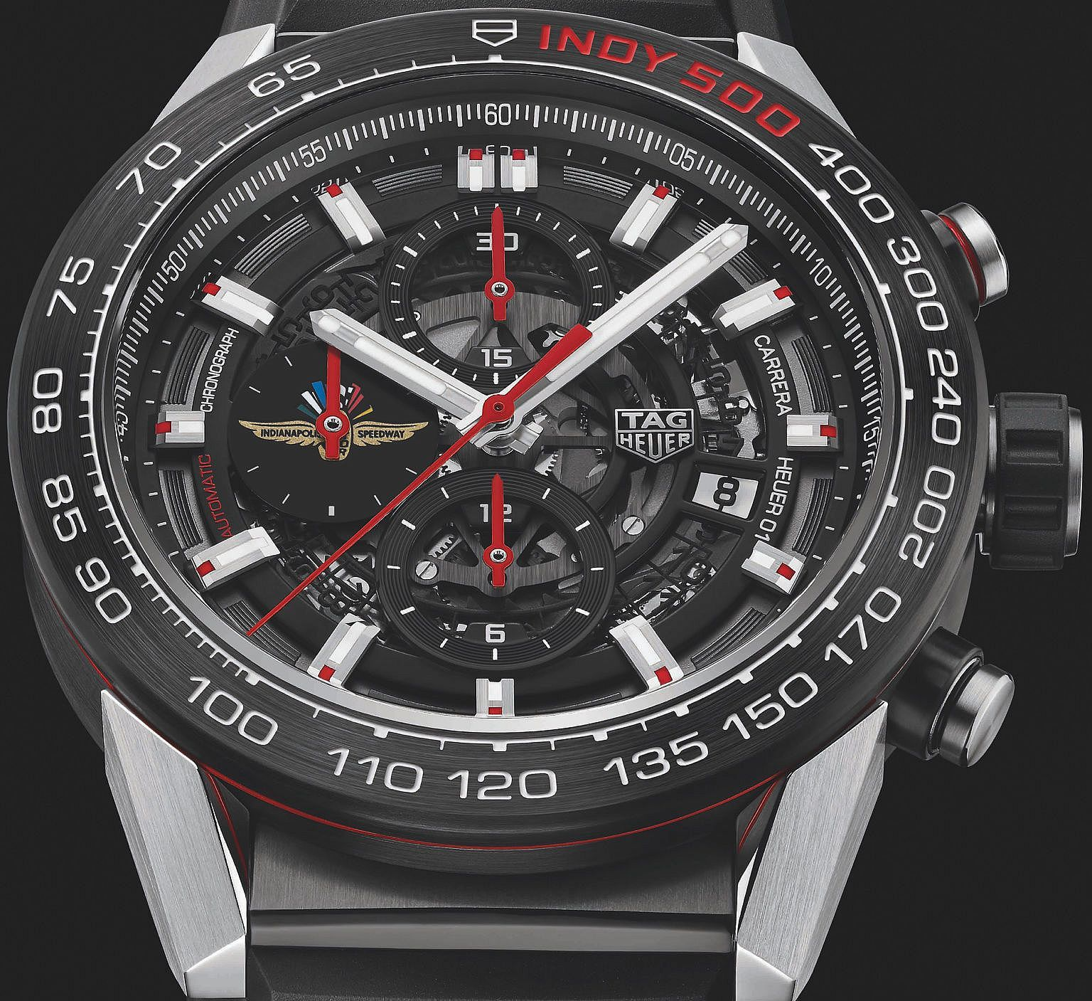 61525234ed4 TAG Heuer Carrera Heuer-01 Indy 500 Edition