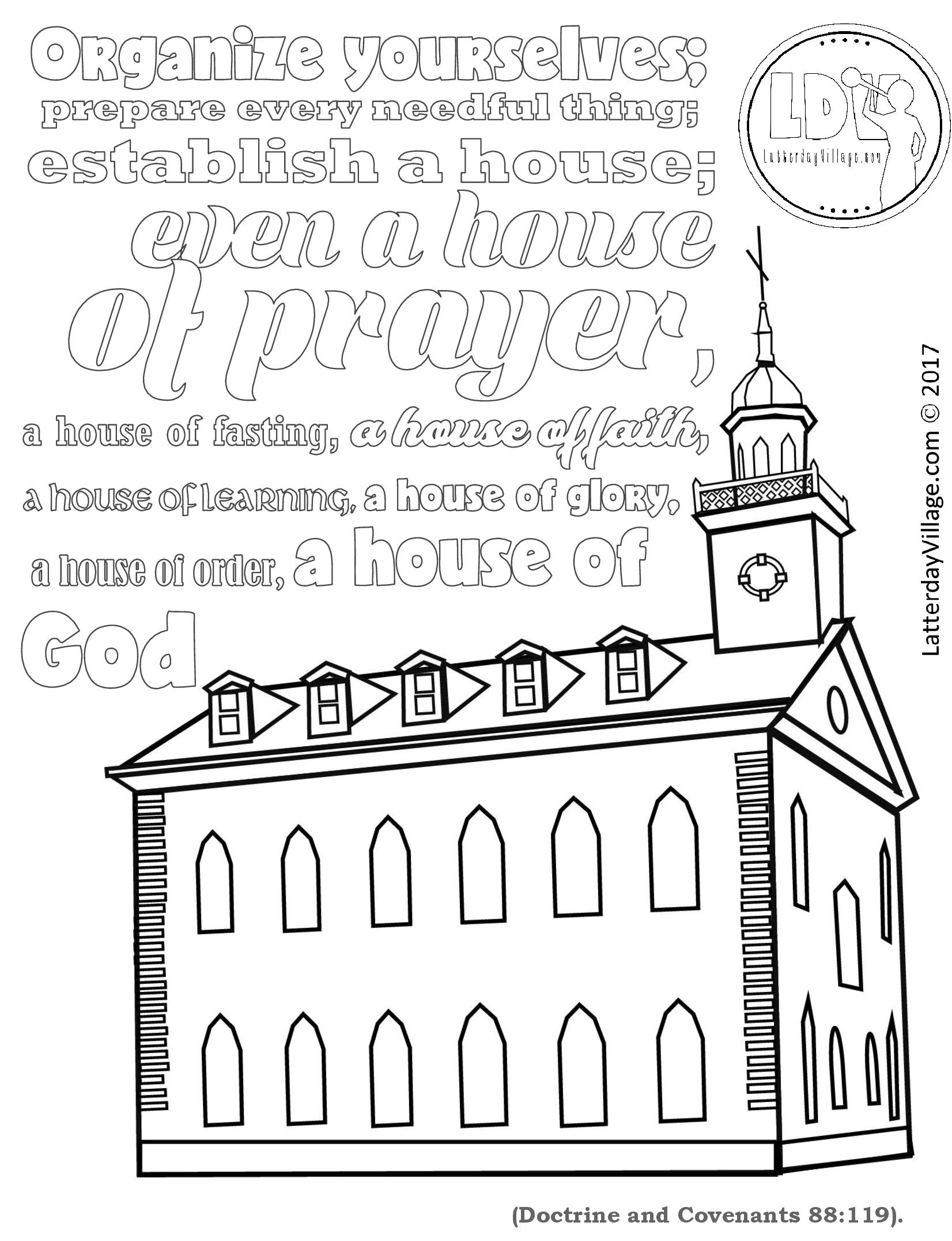 Coloring Page For Primary 5 Lesson 25 Helps For The Whole Lesson