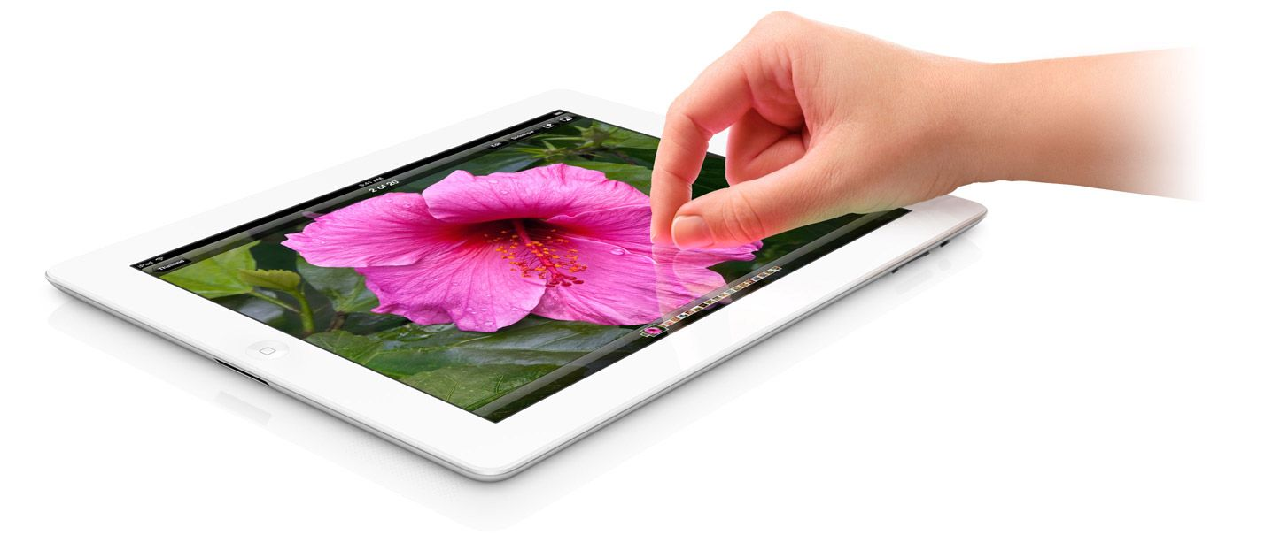 Nya iPad. Magiskt.