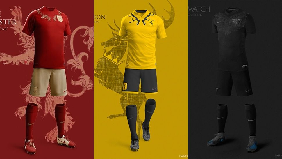 Great Game of Thrones Soccer Uniforms Prove We Need A Westeros World ... 498a38e03