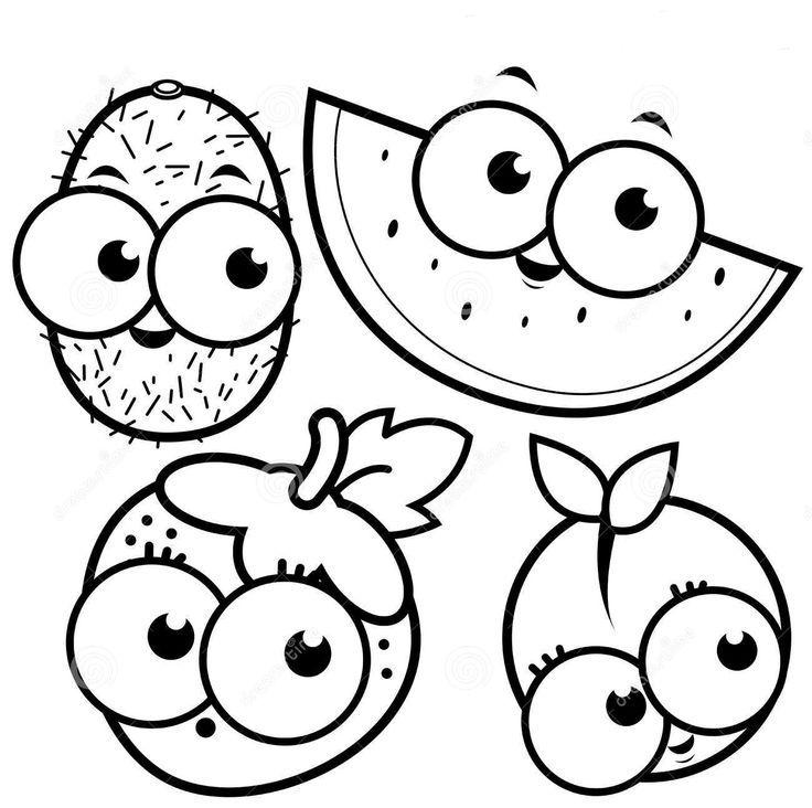 Meyve Boyama Sayfası