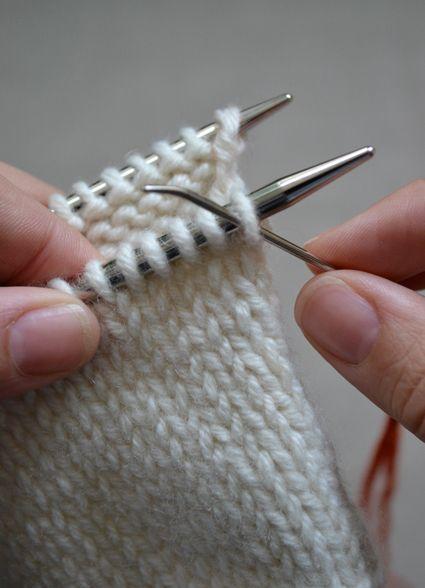 Knit Kitchener Stitch To Finish A Sock : Kitchener Stitch - Knitting Tutorials: Finishing Techniques - Knitting Croche...