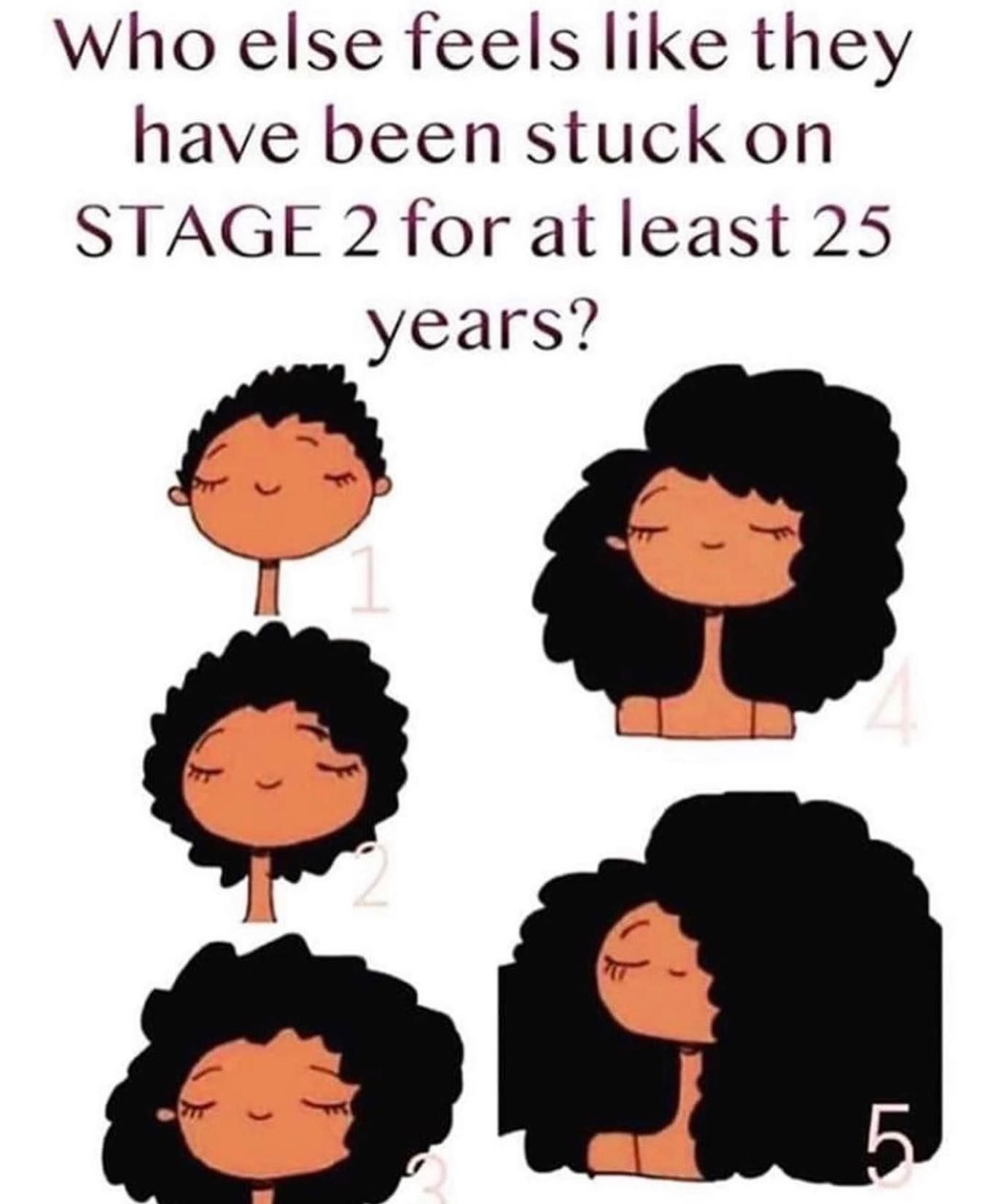 Mines been stuck at stage 3 because of shrinkage for the longest. It's only looks like stage 4 when I blow dry it. 😫😩 @shopbgljewelry  #shopbgljewelry #naturalhair #naturlhairmemes #relatablememes #growinghair #shrinkage #theshrinkageisreal #protectivestyles #teamnatural #type4hair #4chair #4chairstyles #blackgirlhairstyles #blackgirlmagic  #naturalhairjourney #unconditionedroots  #naturalhairstyles #teamnatural #naturalhairroots #type4hair #kinkycoily #naturalhairdoescare #naturallyshedope #m