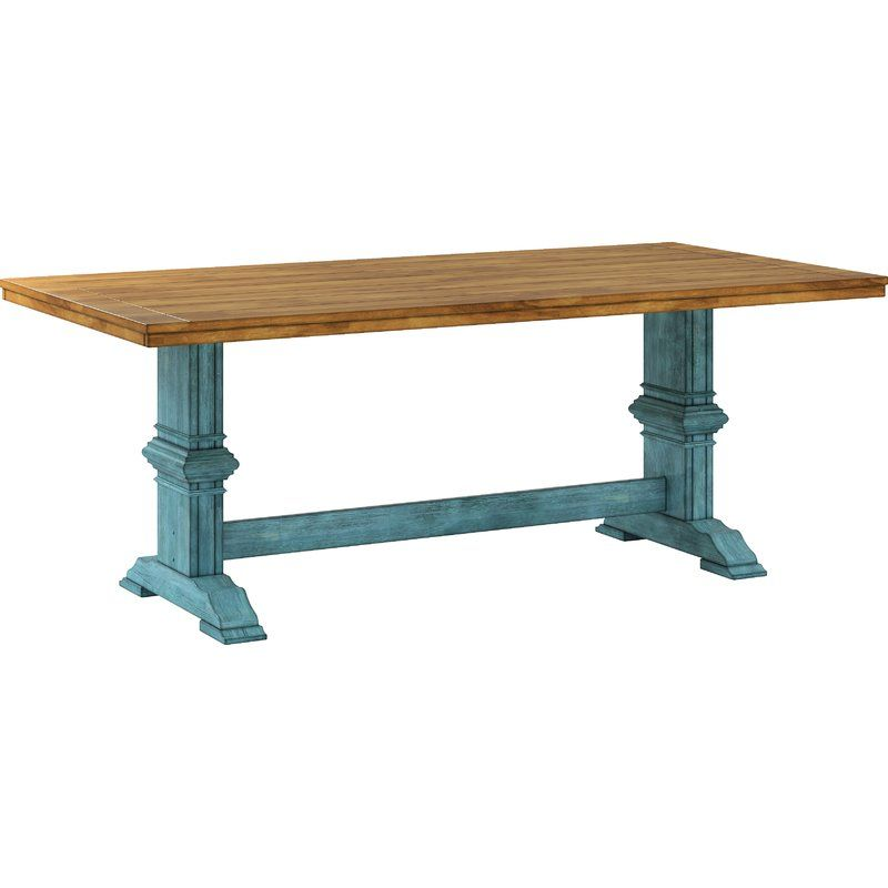 Fortville Dining Table Solid Wood Dining Table Dining Table In