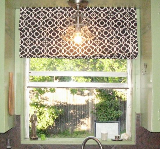 Camille\'s no-sew roman shade | How to.....Projects. | Pinterest ...