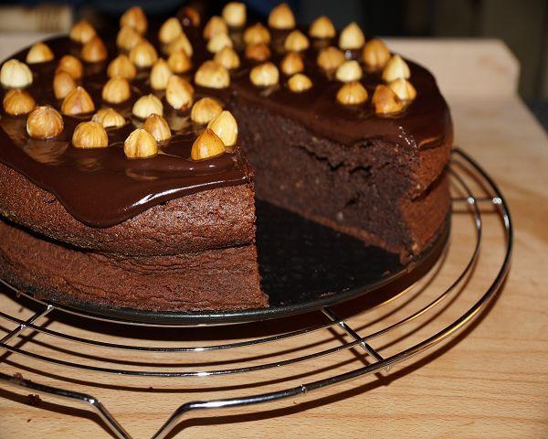 Kuchen gerostete haselnusse