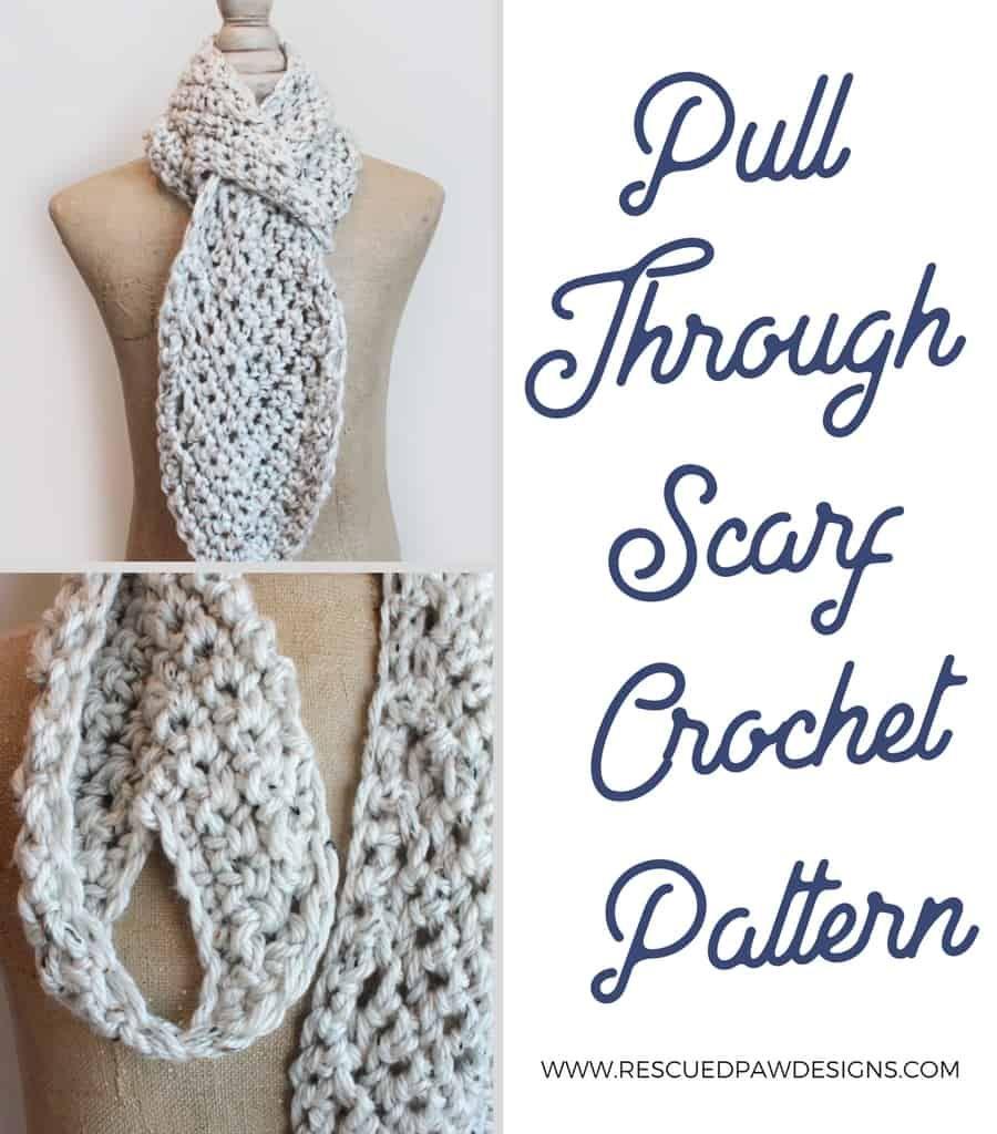 Crochet Chevron Scarf Pattern | Bonitas y Tejido