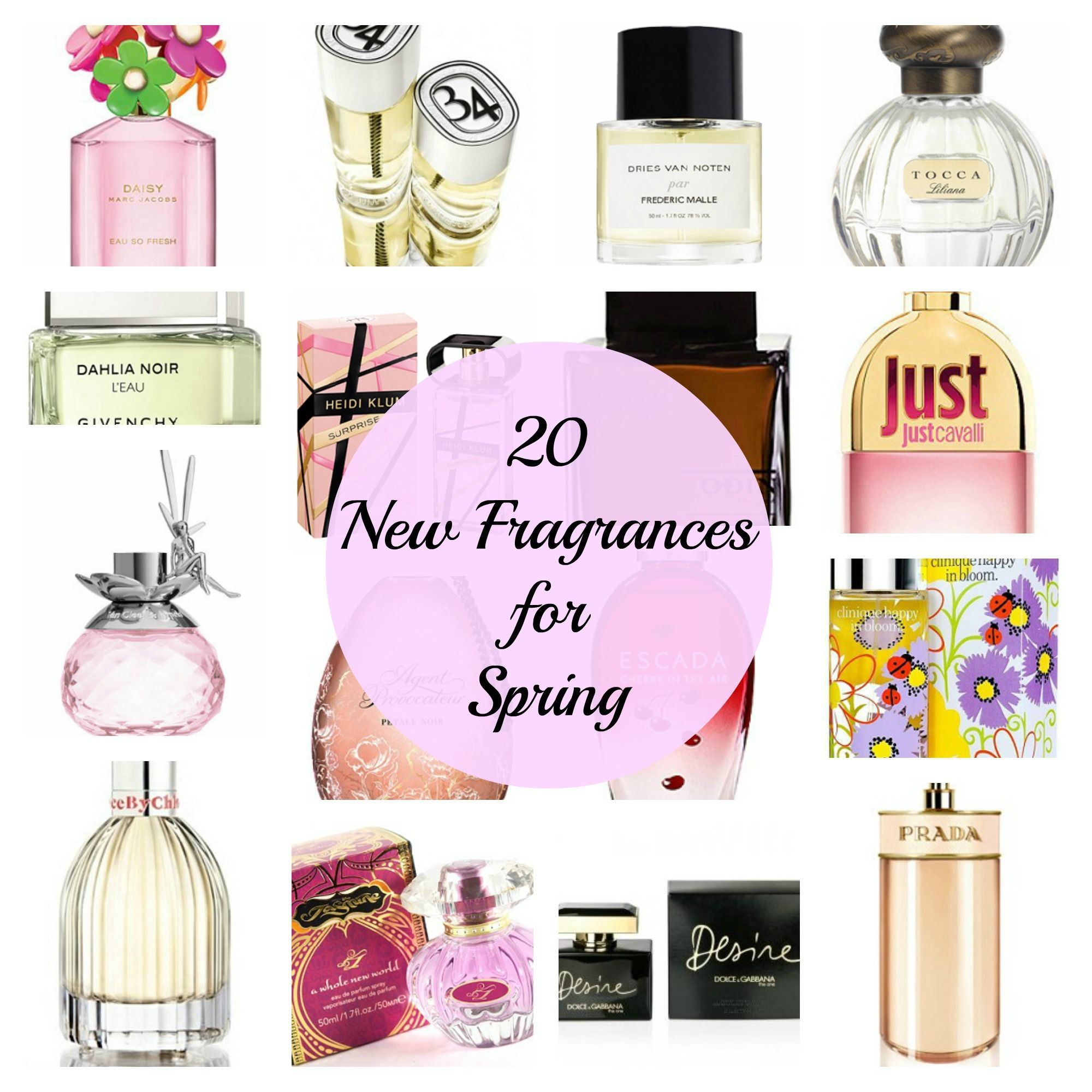 20 Best New Perfumes For Spring 2013 Glam Beauty New Fragrances Fragrance Spring