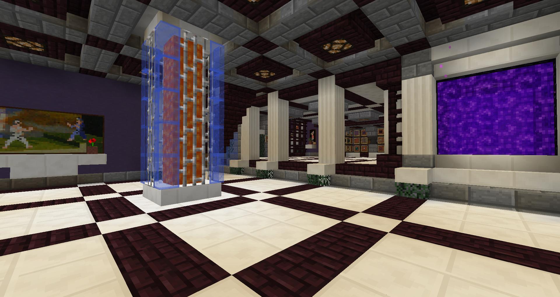 Nether base ssp for Cool minecraft interior designs