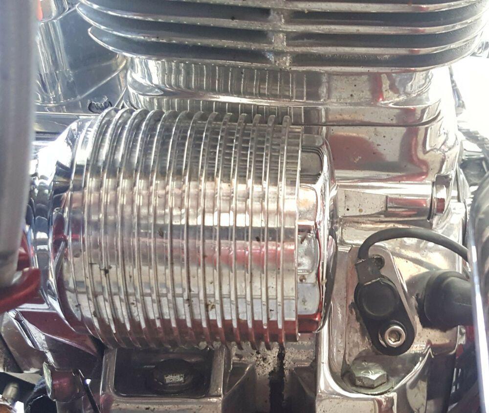 Advertisement eBay) Harley Davidson Oil Cooler Billet Fits