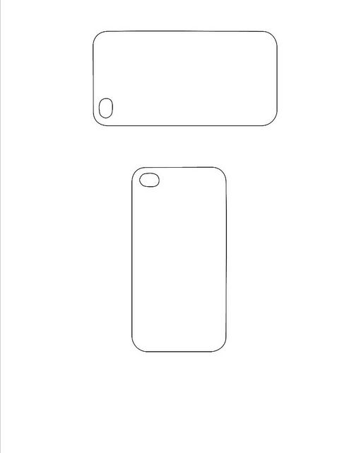 Iphone Case Back Template