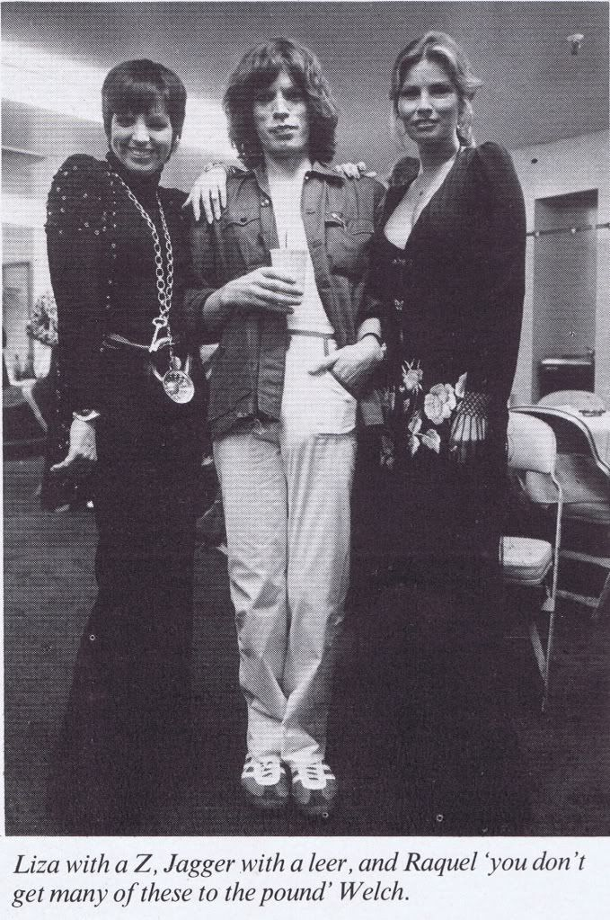 Mick with Liza and Raquel