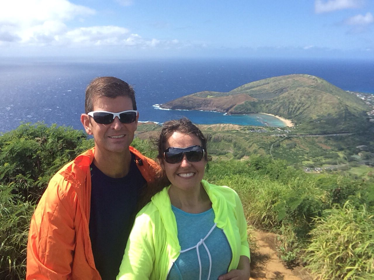 Koko Crater Oahu Hawaii Snapchat spectacles, Round