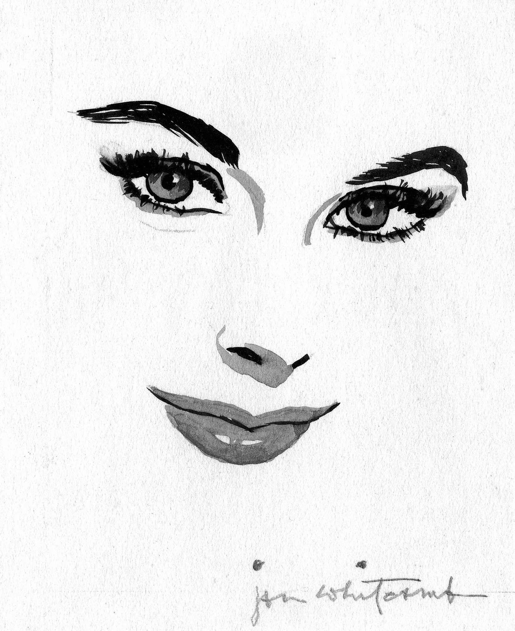 Jon Whitcomb Vintage Art Posters Art Prints Face Art