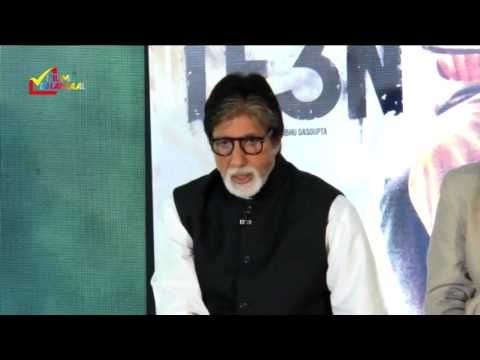 Exclusive Interview - Amitabh Bachchan (At Music Launch of Film Te3n)