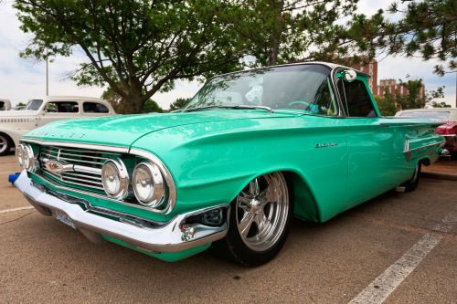 60 Custom Chevrolet El Camino With Images American Muscle Cars