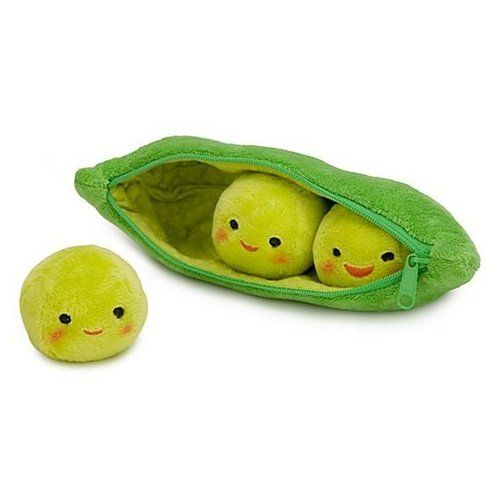 3 Peas-in-a-Pod Plush