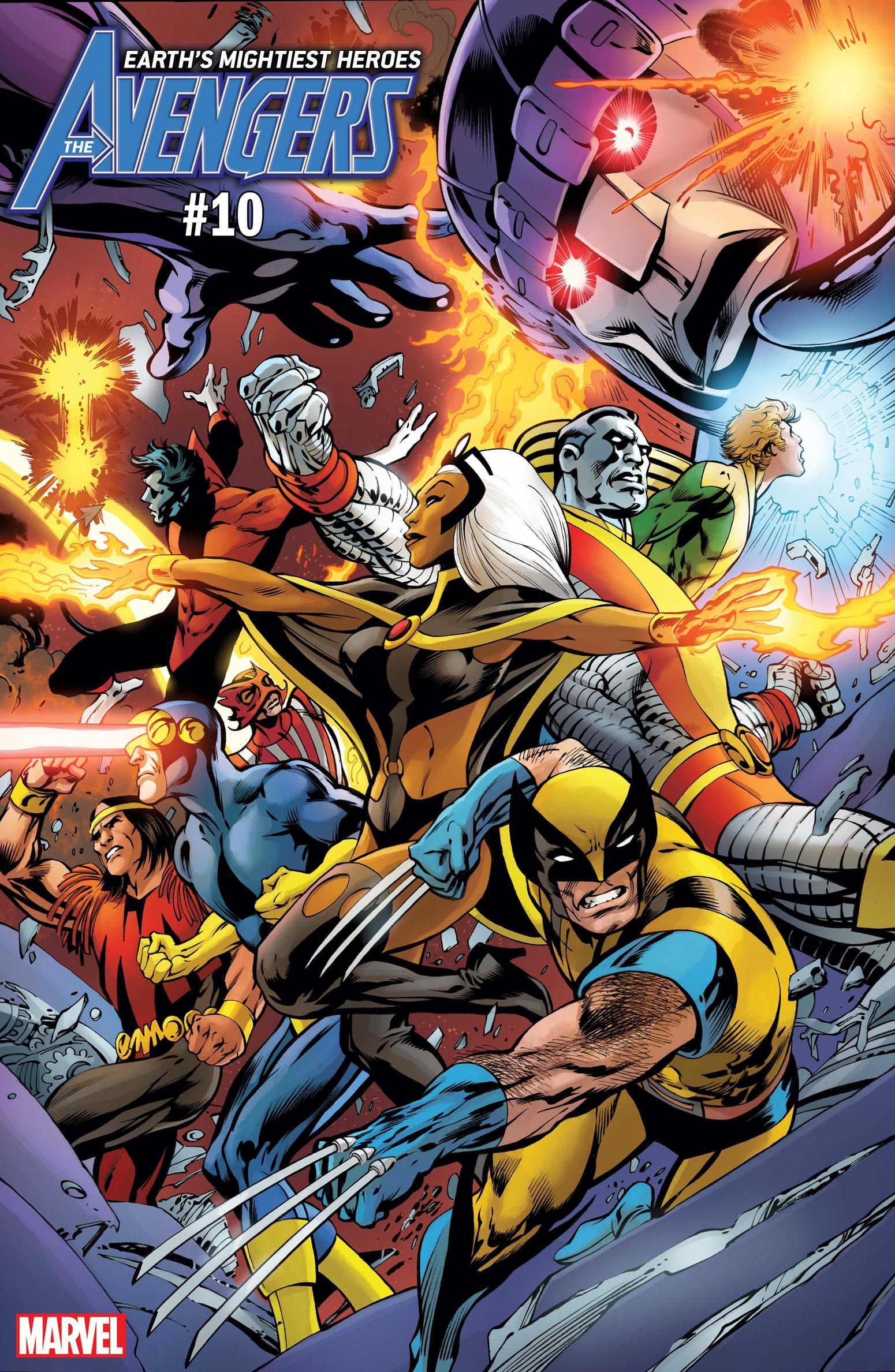 See The First 6 Variant Covers Celebrating Uncanny X Men 1 Avengers Comics Comics Marvel